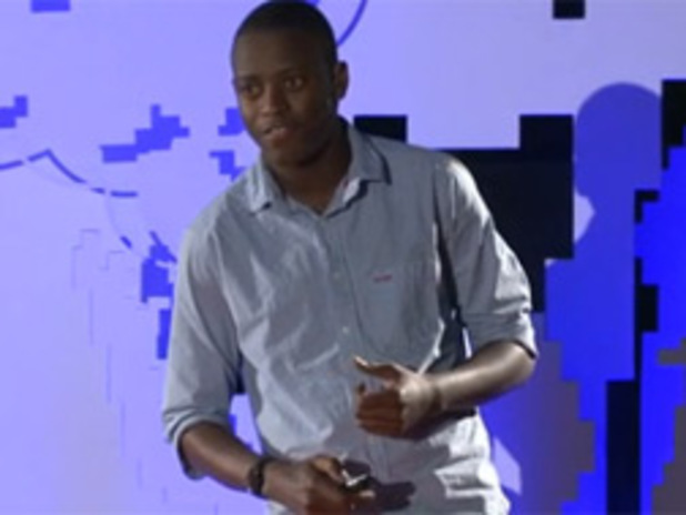 Image of video titled TEDTalks: Ludwick Marishane—A Bath without Water