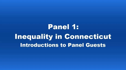 Thumbnail for entry Panel 1 Introductions