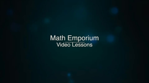 Thumbnail for entry Simplifying Rational Expressions, Part 2