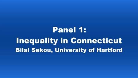 Thumbnail for entry Panel 1 Bilal Sekou