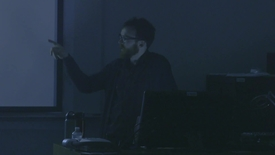 Thumbnail for entry Visiting Artist Lecture - Matt Bolinger Part 2