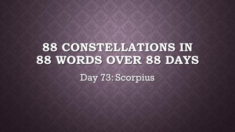 Thumbnail for entry Scorpius