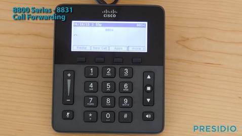 Thumbnail for entry 8831 Call Forwarding
