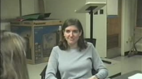 Thumbnail for entry Oral history interview with Jennifer Hadlock recorded on 2002 Nov. 1