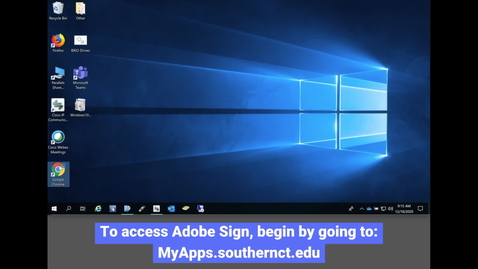 Thumbnail for entry Adobe Sign: How to Access