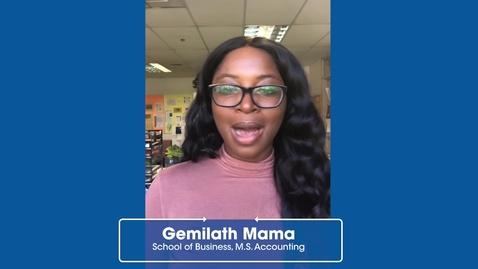 Thumbnail for entry Gemilath Mama : CCSU Alumna