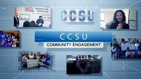 Thumbnail for entry CCSU Community Engagement 2020