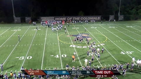 Thumbnail for entry Football v Salve Regina