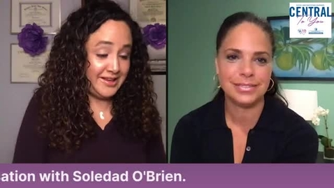 Thumbnail for entry Community Guest: Hispanic Heritage Month, Special Guest Soledad O'Brien October 5th, 2020