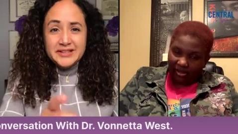 Thumbnail for entry Community Guest:  Vonnetta West- We're not Fragile, An Honest Conversation About Race