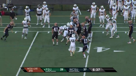 Thumbnail for entry Football v Plymouth State