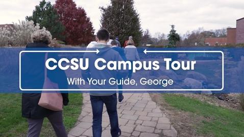 Thumbnail for entry CCSU Campus Tour Fall 2019