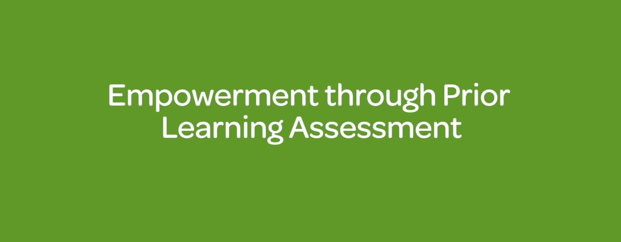 Empowerment through Prior Learning Assessment
