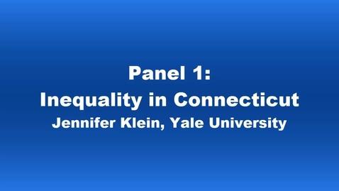 Thumbnail for entry Panel 1 Jennifer Klein