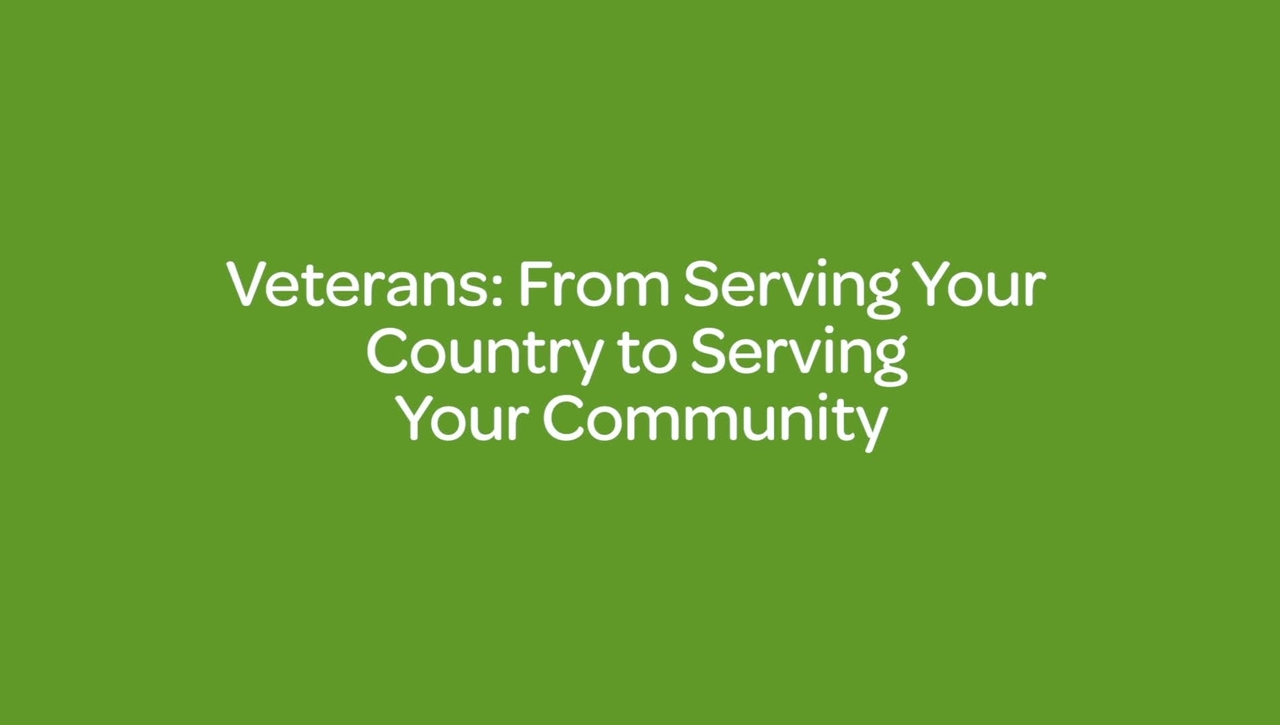 Veterans_ From Serving Your Country to Serving Your Community