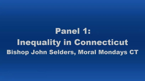 Thumbnail for entry Panel 1 Bishop John Selders