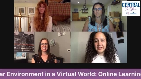 Thumbnail for entry Creating Familiar Environments for Learning In A Virtual World: Online Learning Supports for Children with a Wide Range of Needs- July 6th, 2020
