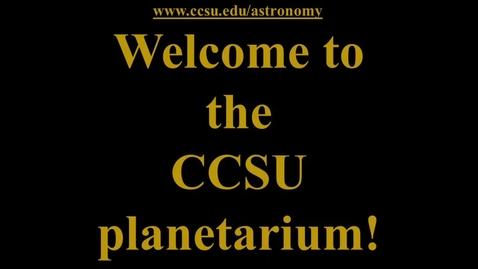 Thumbnail for entry Open House Planetarium Tour