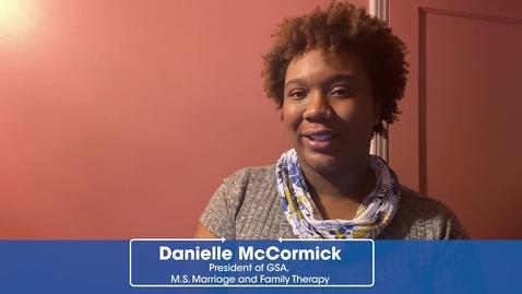 Danielle  McCormick, CCSU Graduate Student and GSA President 2
