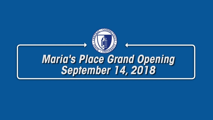 Grand Opening of Maria's Place Food Pantry at CCSU : September 14, 2018