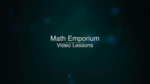 Thumbnail for entry Solving Number Problems Modeled by Rational Expressions