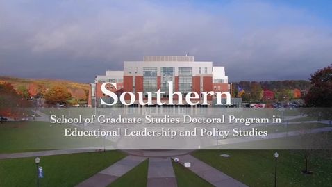 Thumbnail for entry Doctoral Program in Educational Leadership and Policy Studies