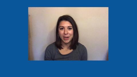 Thumbnail for entry Moriah Moresh : Graduate Student