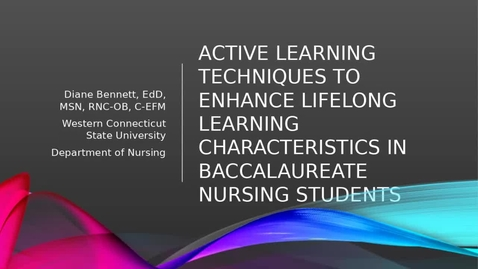 Thumbnail for entry Active Learning & LLL
