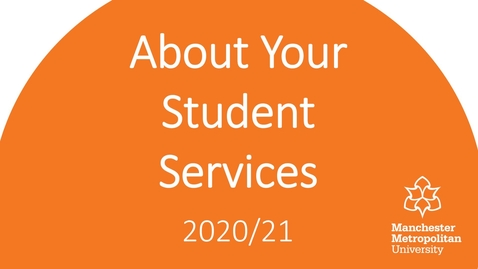 Thumbnail for entry Student Services Introduction