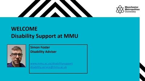 Thumbnail for entry Disability Service - Webinar