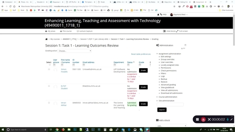 Thumbnail for entry Moodle Tips : Gradebook and Reports scrolling