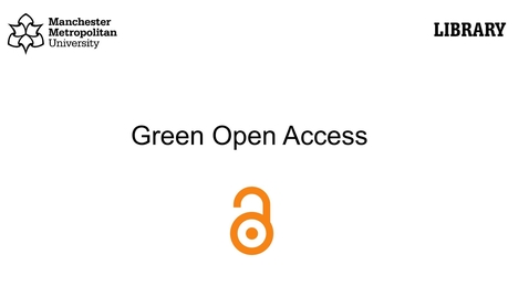 Thumbnail for entry Green open access