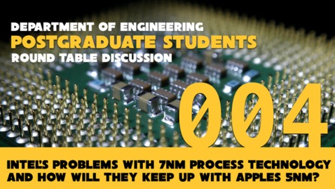 Thumbnail for entry Engineering PGT Round Table - 4
