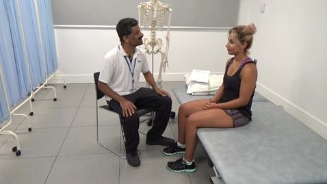 Thumbnail for entry Measurement of Range of Movement - Upper Quadrant - Cervical Spine
