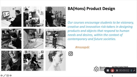 Thumbnail for entry BA (Hons) Product Design Course Presentation