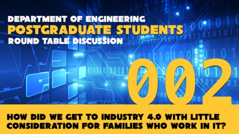 Thumbnail for entry Engineering PGT Round Table - 2