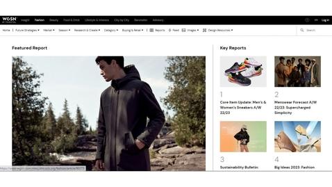 Thumbnail for entry WGSN Fashion