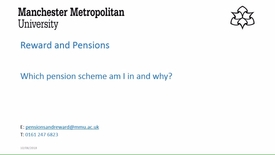Thumbnail for entry Which pension scheme am I in and why?