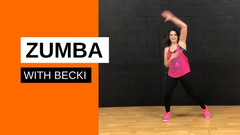 Thumbnail for entry Zumba with Becki - Session 1