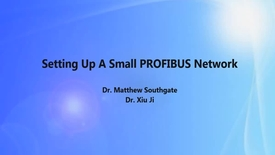 Thumbnail for entry PROFIBUS Creating a two device network with ProfiTrace