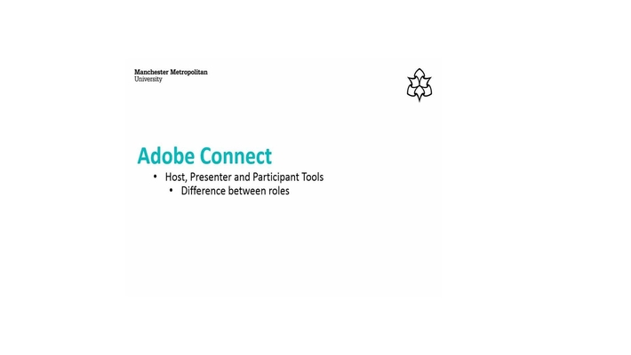 Host, Presenter and Participant Tools