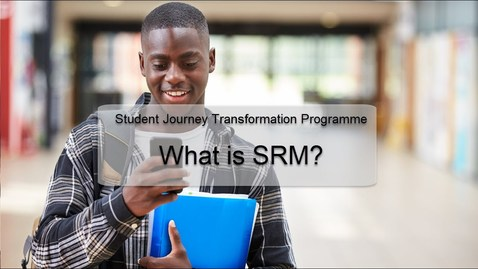 Thumbnail for entry What is SRM?
