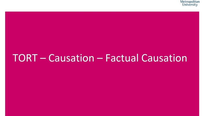 WITH SOUND 2017 FACTUAL CAUSATION PODCAST 3
