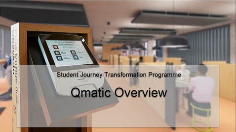 Thumbnail for entry Qmatic Overview