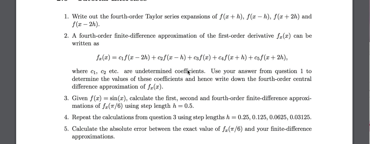 PDEs_Chapter_2_Exercises_Q3-7