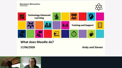 Thumbnail for entry What Does Moodle Do?