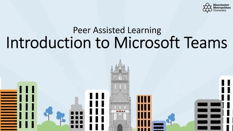 Thumbnail for entry Peer Assisted Learning - Introduction to Microsoft Teams