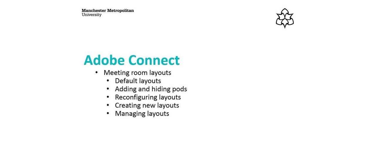 Managing Pods and Layouts in Meeting Rooms