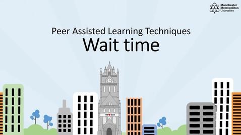 Thumbnail for entry PAL Leader Techniques - Wait time