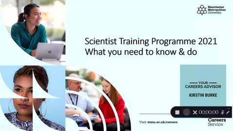 Thumbnail for entry Scientist Training Programme 2021 | What you need to know & do